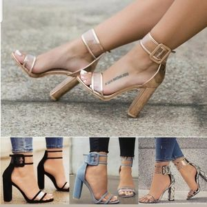 New High Fashioned Blocked Heels